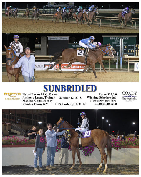 SUNBRIDLED - 101218 - Race 09 - CT