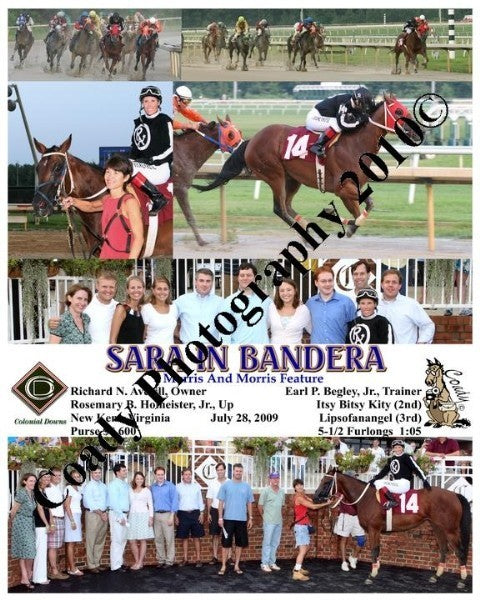 SARA IN BANDERA  -  Morris And Morris Feature  -