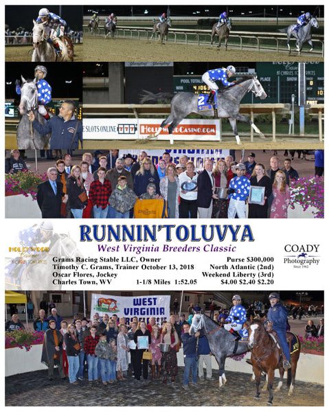 RUNNIN'TOLUVYA - 101318 - Race 08 - CT