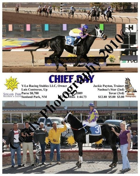 Chief Day  -    -  3 1 2009