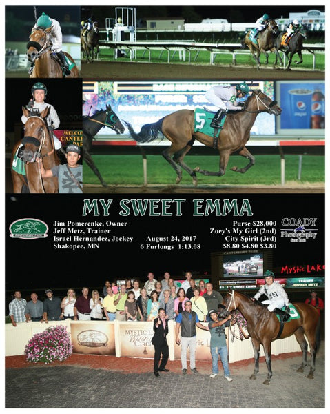 MY SWEET EMMA - 082417 - Race 05 - CBY