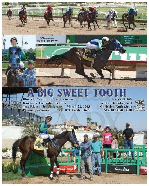 A Big Sweet Tooth - 032213 - Race 03 - TUP