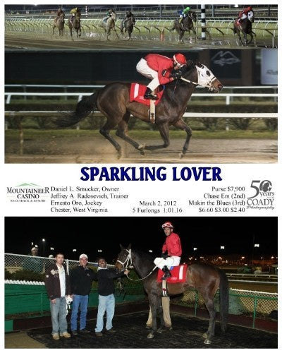 SPARKLING LOVER - 030212 - Race 04