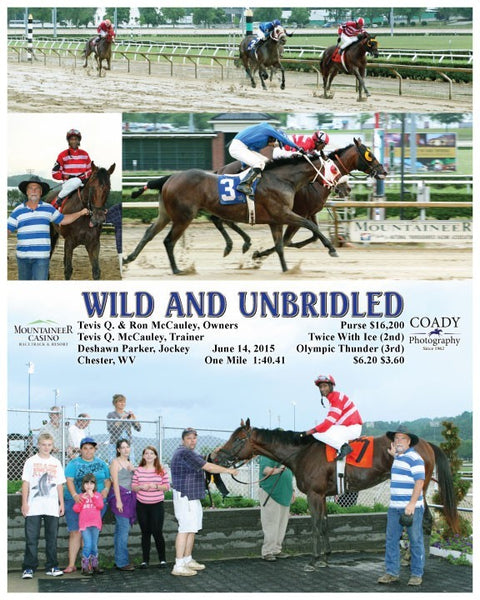WILD AND UNBRIDLED - 061415 - Race 03 - MNR