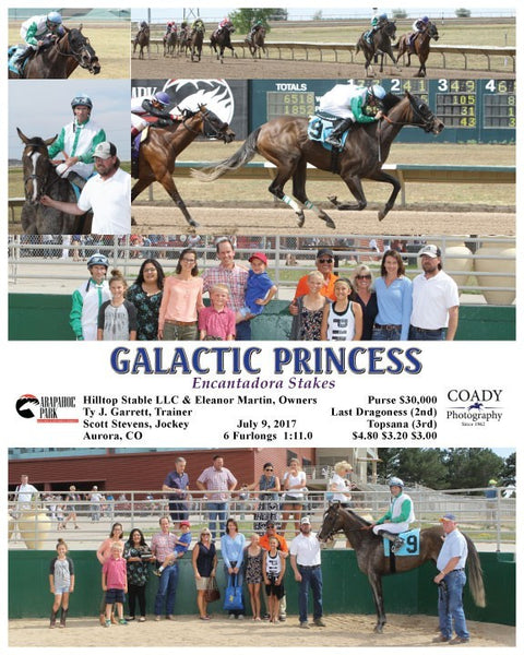 GALACTIC PRINCESS - 070917 - Race 08 - ARP