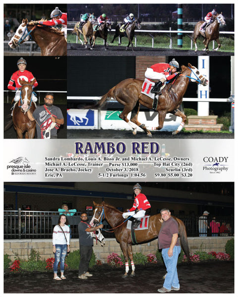 RAMBO RED  - 100318 - Race 05 - PID
