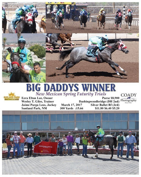 BIG DADDYS WINNER - 031717 - Race 01 - SUN