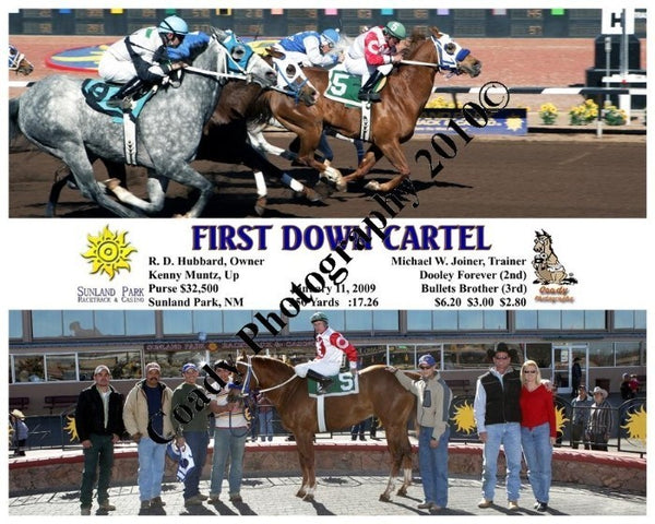First Down Cartel  -    -  1 11 2009