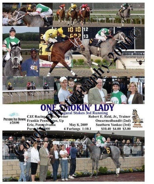 One Smokin  Lady  -  The Inaugural Stakes 3rd Runn