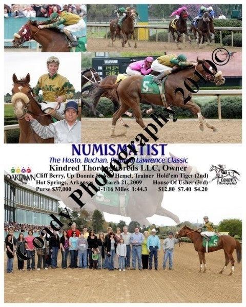 NUMISMATIST  -  The Hosto, Buchan, Prater & Lawren