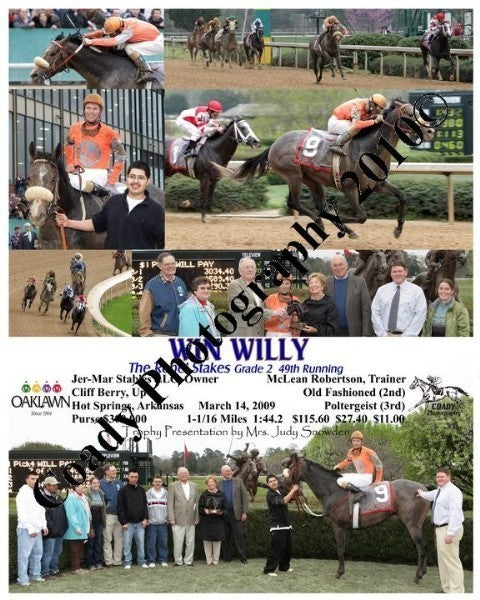 WIN WILLY  -  The Rebel Stakes Grade 2 49th Runnin