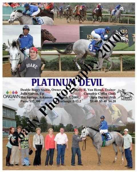 PLATINUM DEVIL  -    -  3 7 2009