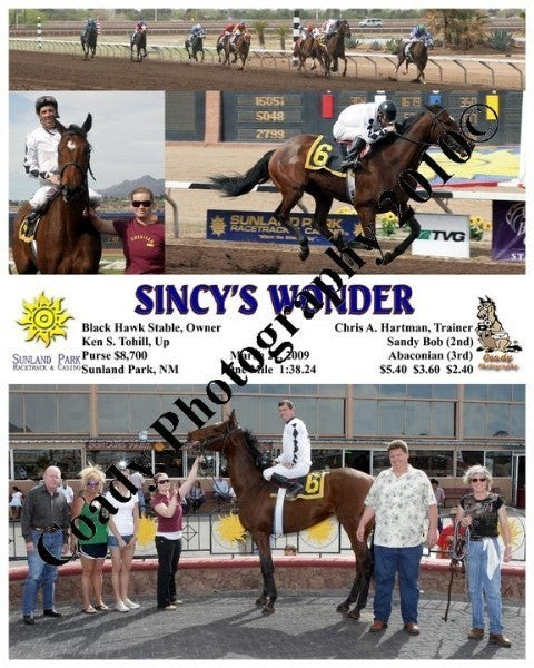 Sincy s Wonder  -    -  3 22 2009