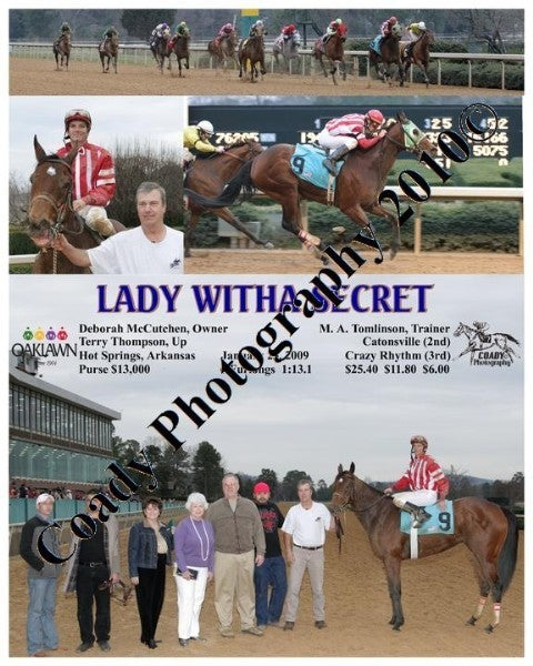 LADY WITHA SECRET  -    -  1 23 2009
