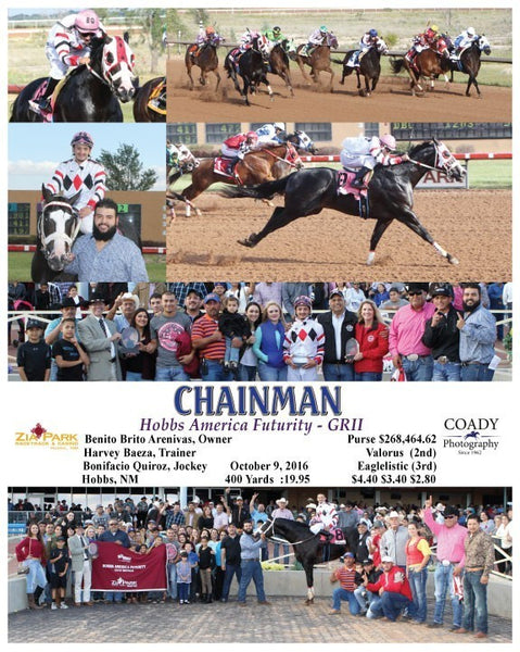 CHAINMAN - 100916 - Race 10 - ZIA