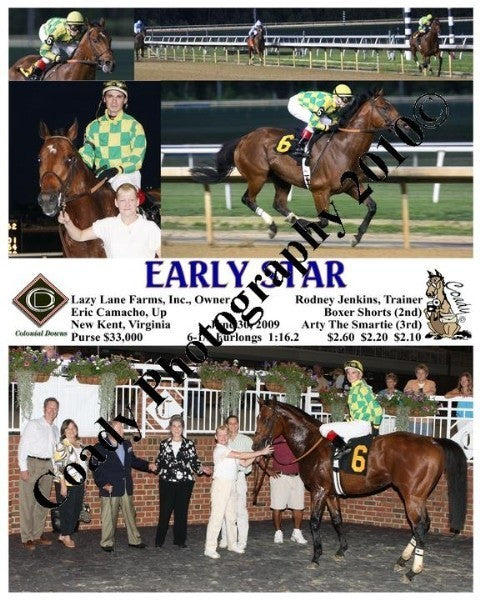 EARLY STAR  -    -  6 30 2009