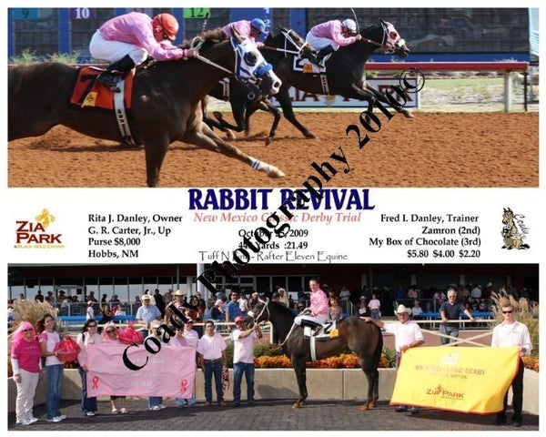RABBIT REVIVAL  -  New Mexico Classic Derby Trial