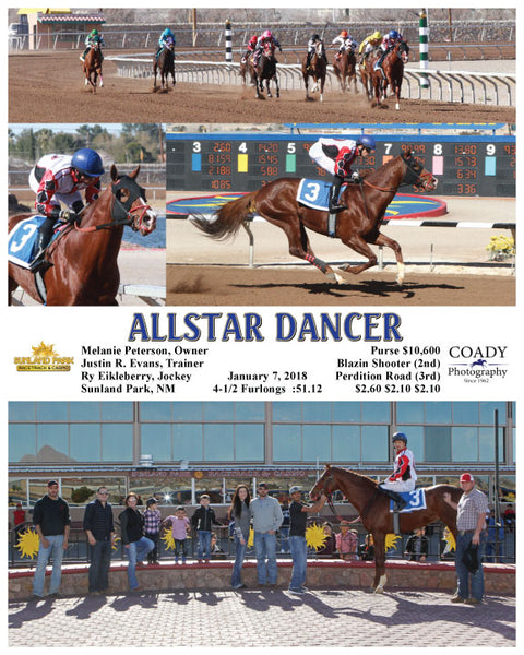 ALLSTAR DANCER - 010718 - Race 3 - SUN