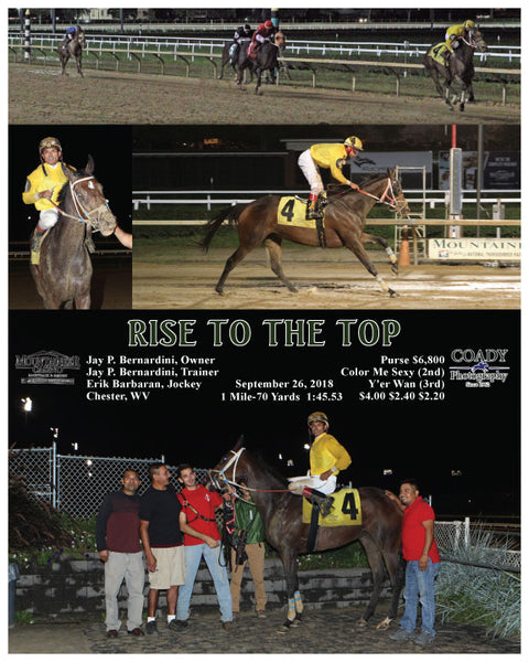 RISE TO THE TOP - 092618 - Race 06 - MNR