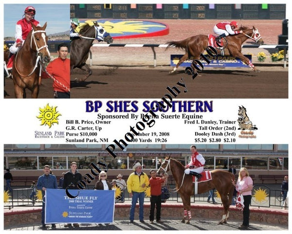 Bp Shes Southern  -  Sponsored By Buena Suerte Equ