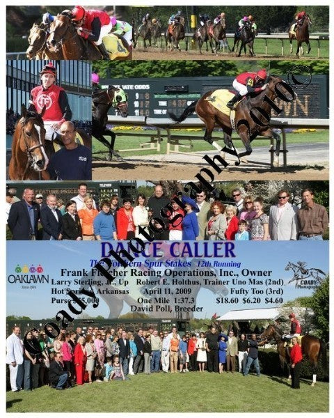 DANCE CALLER  -  The Northern Spur Stakes  12th Ru