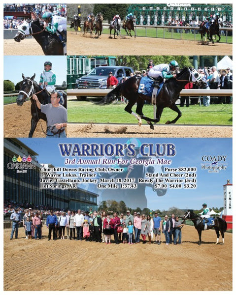 WARRIOR'S CLUB - 031817 - Race 02 - OP