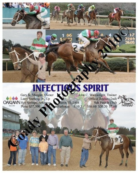 INFECTIOUS SPIRIT  -    -  3 15 2008