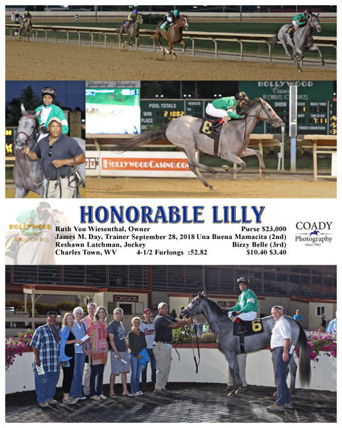 HONORABLE LILLY - 092818 - Race 01 - CT