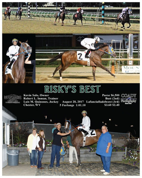 RISKY'S BEST - 082817 - Race 07 - MNR