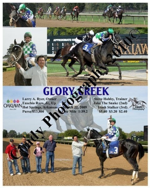 GLORY CREEK  -    -  3 22 2009