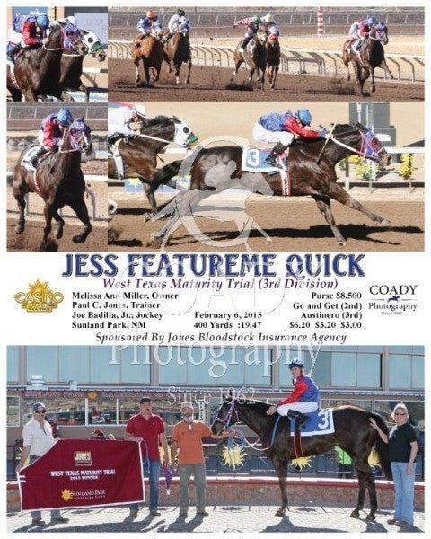 Jess Featureme Quick - 020615 - Race 06 - SUN