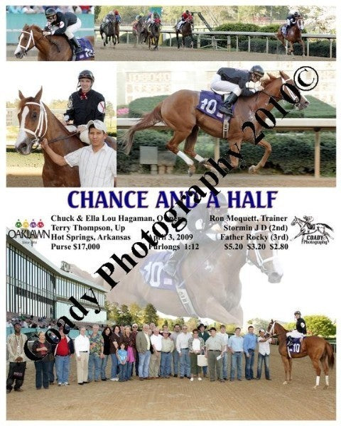 CHANCE AND A HALF  -    -  4 3 2009
