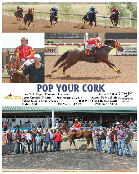 POP YOUR CORK - 092417 - Race 02 - ZIA