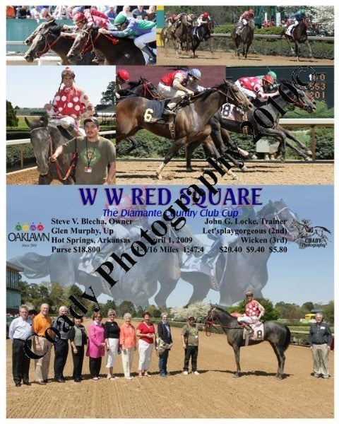 W W RED SQUARE  -  The Diamante Country Club Cup