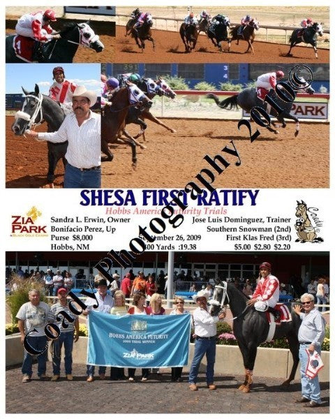 SHESA FIRST RATIFY  -  Hobbs America Futurity Tria