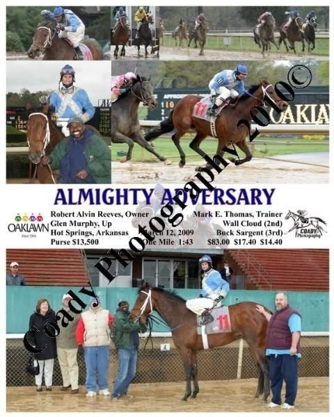 ALMIGHTY ADVERSARY  -    -  3 12 2009