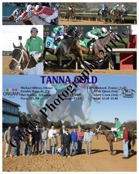 TANNA GOLD  -  The Ellis Classic  -  2 14 2009