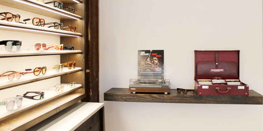 Durant Sessions optical eyewear store