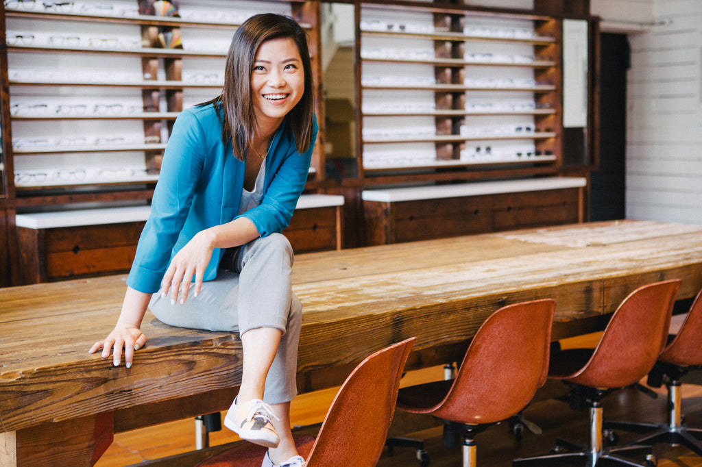 Optometrist Doctor Lili Liang at Durant Sessions in Vancouver