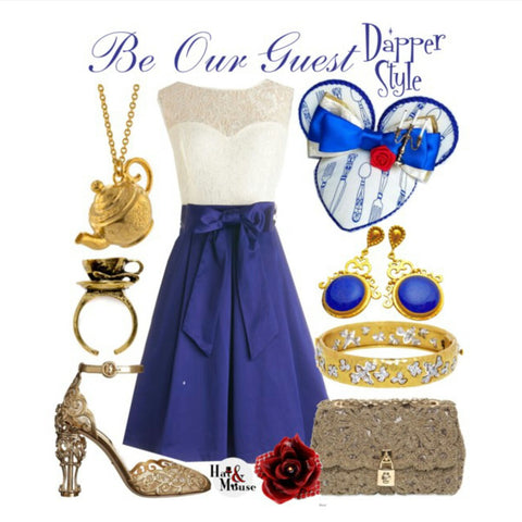 dapper day disneybound inspiration be our guest