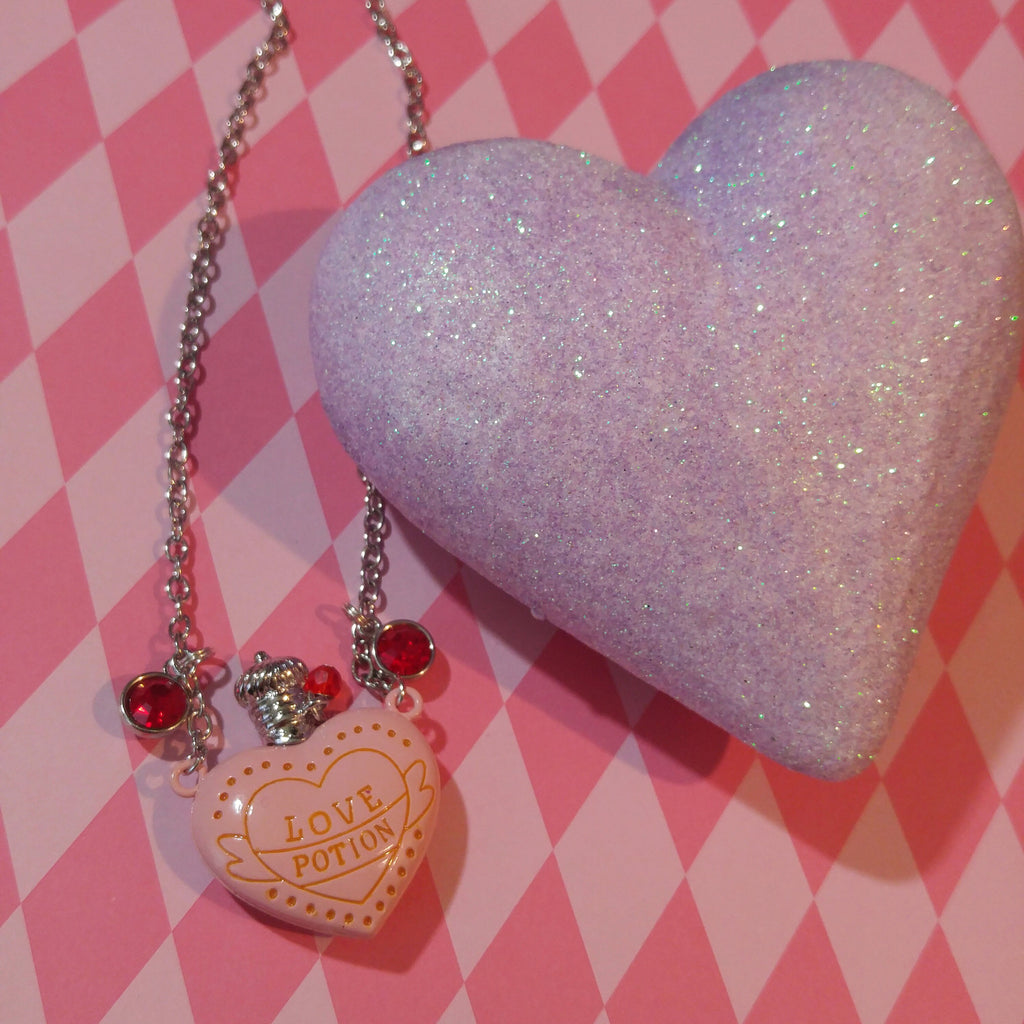 Bottle Of Magic Love Potion Necklace