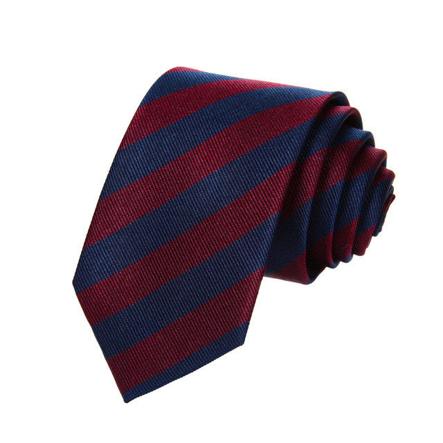 Blue and burgundy striped tie. Harry potter invermorny robes cosplay costume.