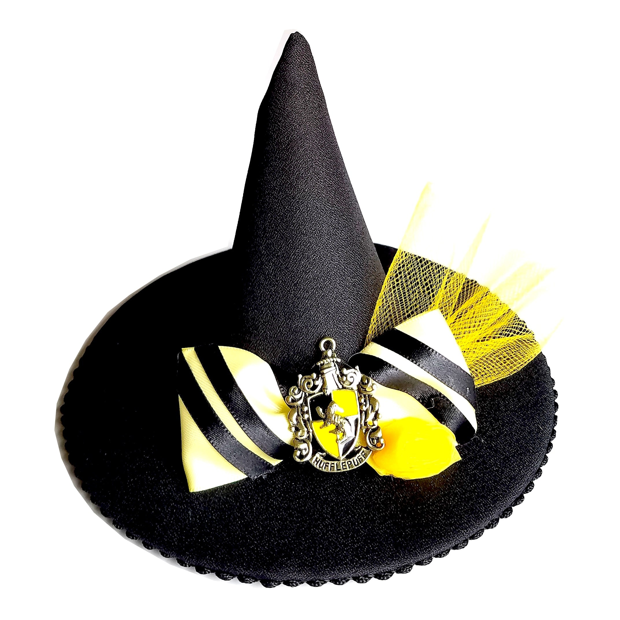Mini Witch Hat Fascinator Badger House - Hat and Mouse 378787c8f18