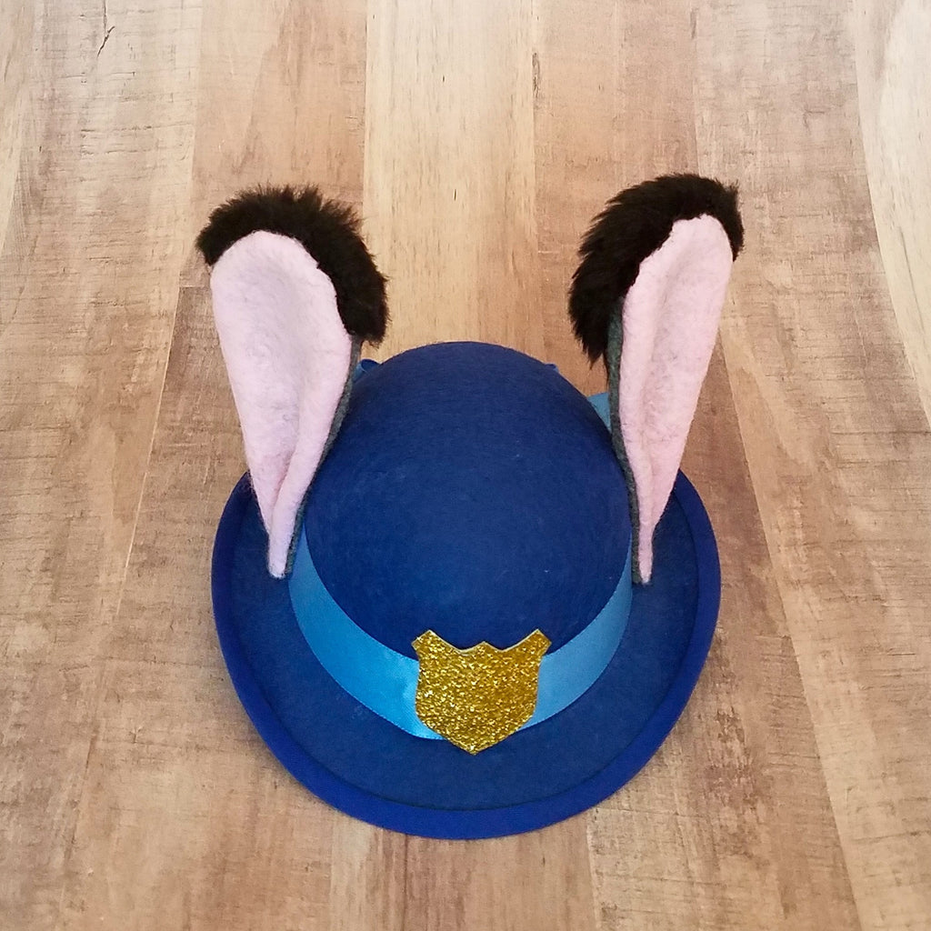 Judy Hopps Zootopia Mini Bowling Hat for disney dapper day or disneybound.
