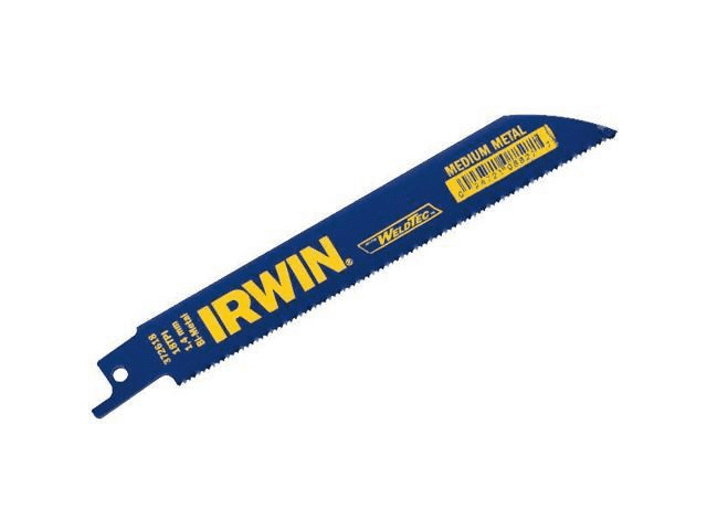 Irwin (IRW_372618) Reciprocating Saw Blade 6 18TPI 1PK
