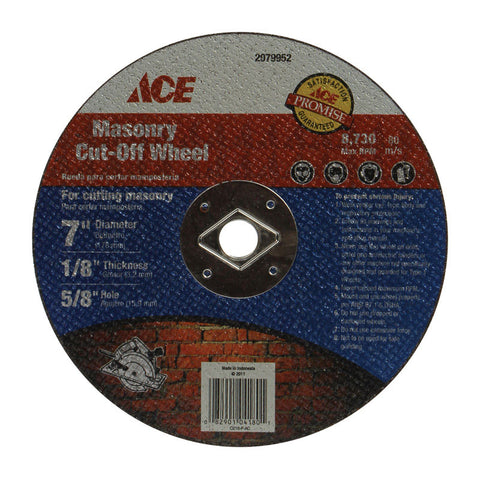Ace (ACE_2079952) 7 in. Abrasive Cut-off Wheel for Masonry