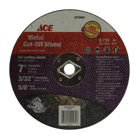 Ace (ACE_2079960) 7 in. Abrasive Cut-off Wheel for Metal