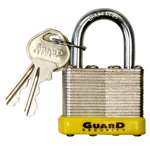 Guard Security (764) Padlock - Laminated, 2-5/8in