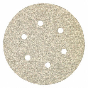 Porter Cable (PTR_726013210) 6in Zirconia PSA 6-Hole 320 Grit paper Disc - 10pk