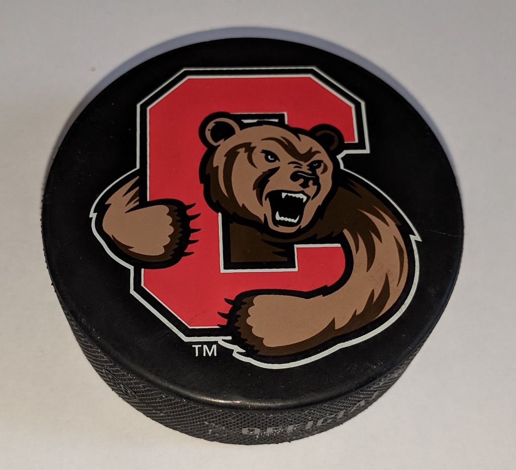 Cornell Men's Hockey Game Puck - From Union Playoff Series Mar 2019
